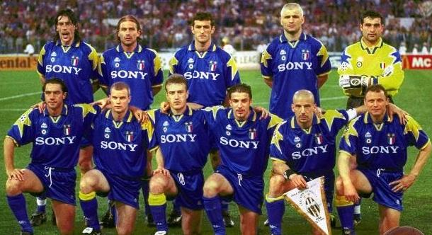 Juventus, finale champions league 1996