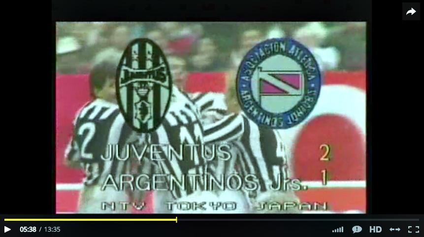 Coppa Intercontinentale 1985: Juventus-Argentinos