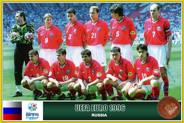 Resultado de imagem para russia euro 1996