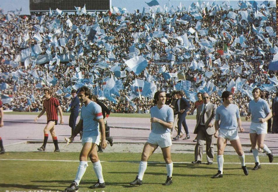 1971 – 1976 : tijdperk Maestrelli – S.S. LAZIO – 9 GENNAIO 1900