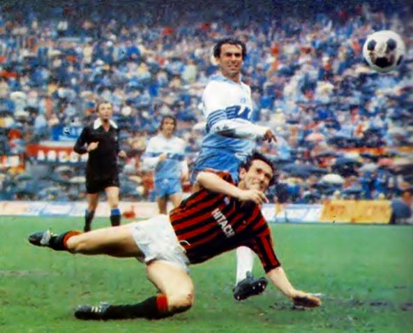 Milan-Lazio 1982-1983 5-1: la rete milanista di Damiani
