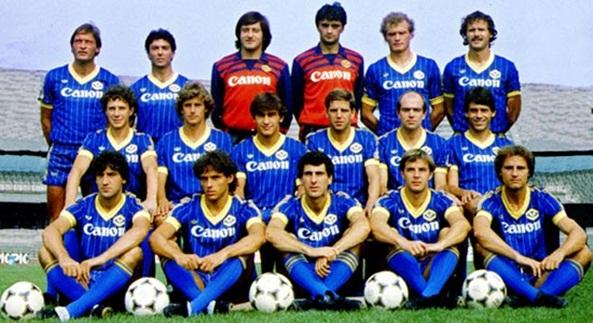 Risultato immagine per verona 1985 formazione