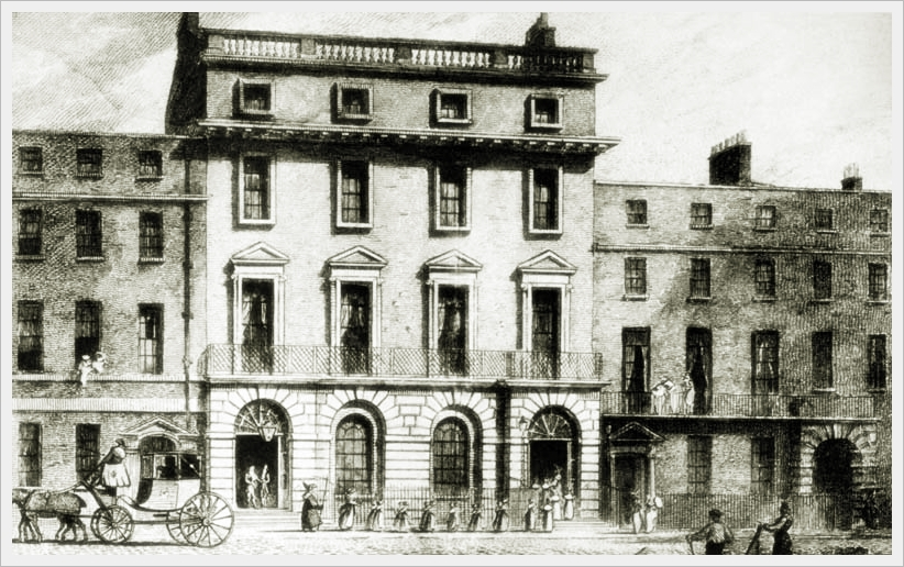 La Freemasons' Tavern di Queen Street a Londra