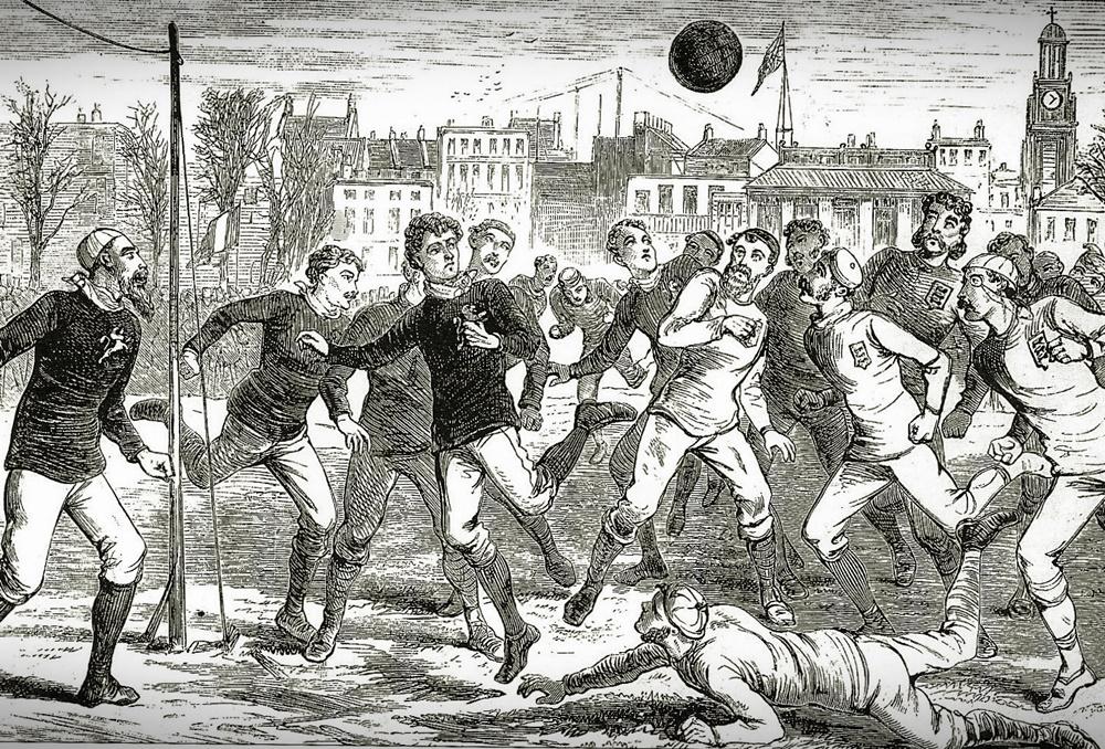 1872: il primo match internazionale tra Inghilterra e Scozia