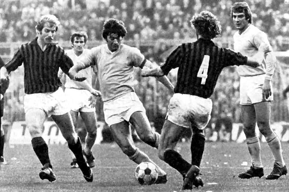 Milan-Napoli-0-0: Juliano si infila tra Benetti e Zecchini