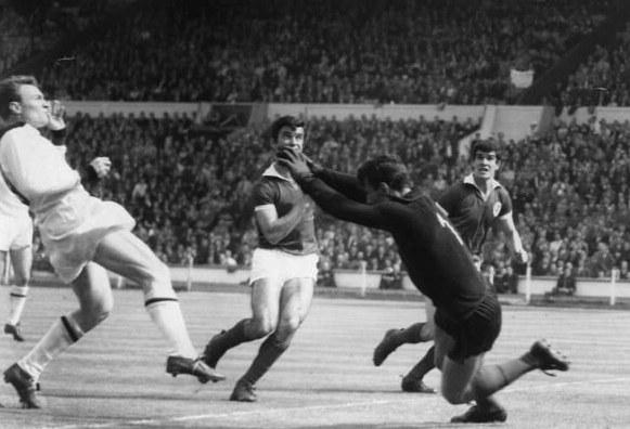 Finale Coppa Campioni 1963; la rete di Altafiini