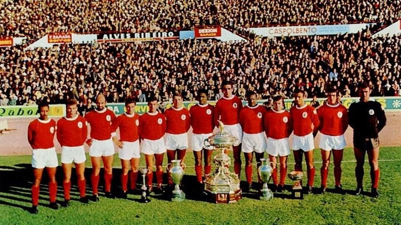 Il Benfica di Eusebio
