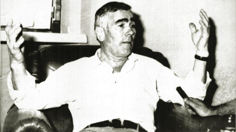 Il presidente del Verona Saverio Garonzi