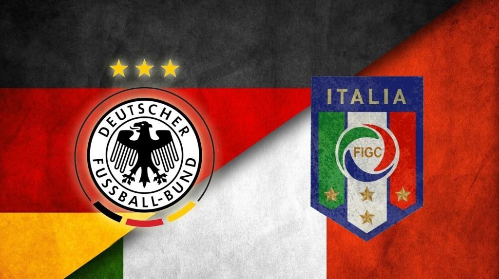 Italia-Germania: uomini contro