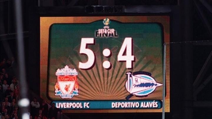 Liverpool-Alaves: 9 reti sopra il cielo