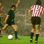 Athletic Bilbao – Juventus 2-1, Coppa Uefa 1976-77 (finale di ritorno), Causio in azione