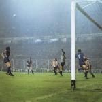 Athletic Bilbao – Juventus 2-1, finale Coppa Uefa 1976-77 (ritorno), Zoff, Scirea e Morini impegnati dagli attaccanti baschi