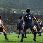 Athletic Bilbao – Juventus 2-1, finale Coppa Uefa 1976-77 (ritorno), azione offensiva dei baschi