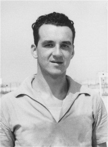 Bruno Pizzul nel 1958