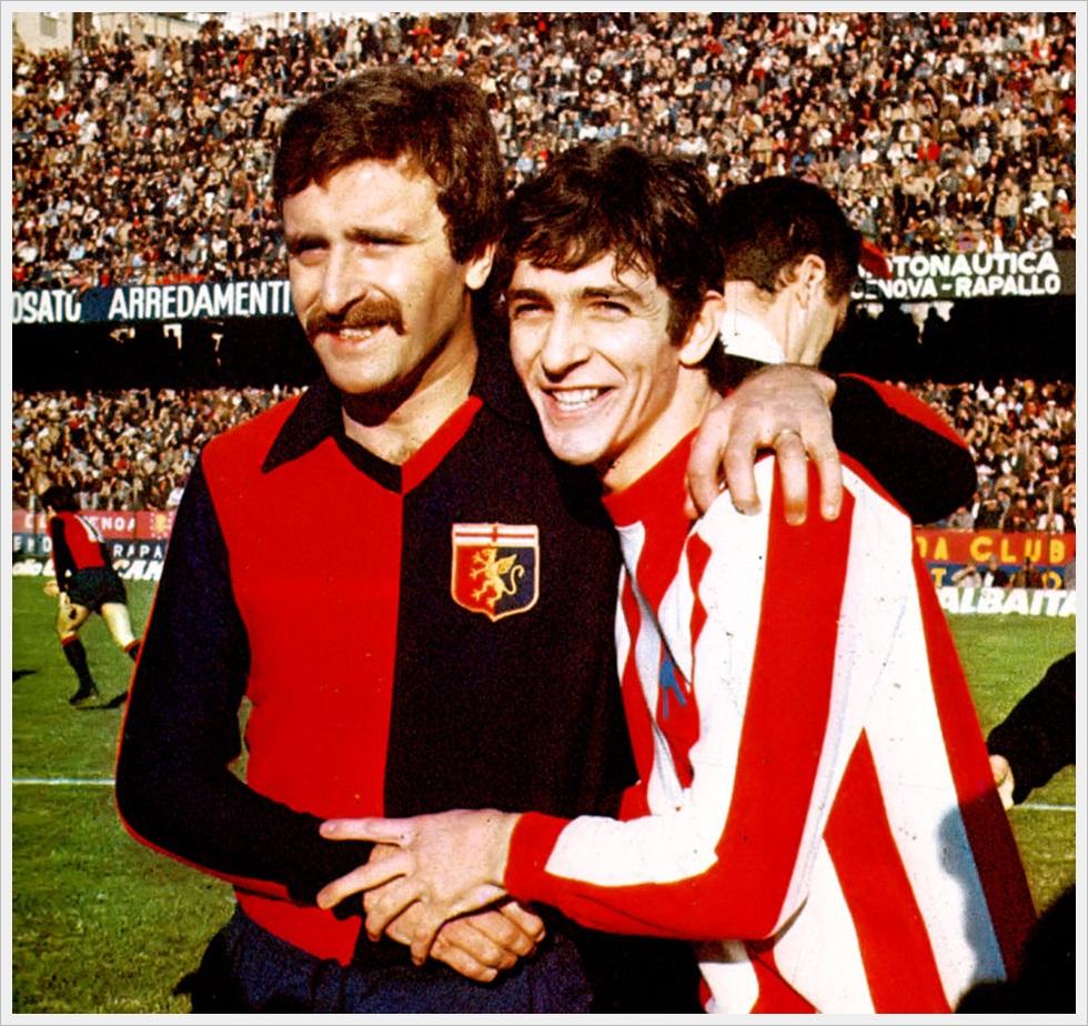 Roberto Pruzzo e Paolo Rossi, serie A 1977/78