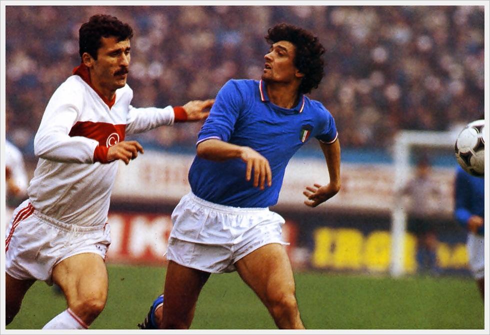 Alessandro Altobelli in Turchia-Italia 1-2 del 3 marzo 1984