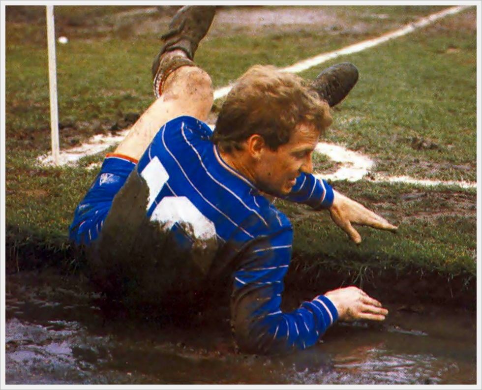 David Speedie del Chelsea (1982-1987)