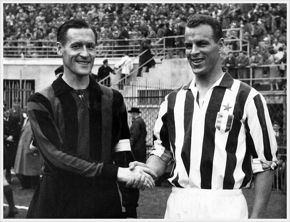 1959: Nils Liedholm e John Charles