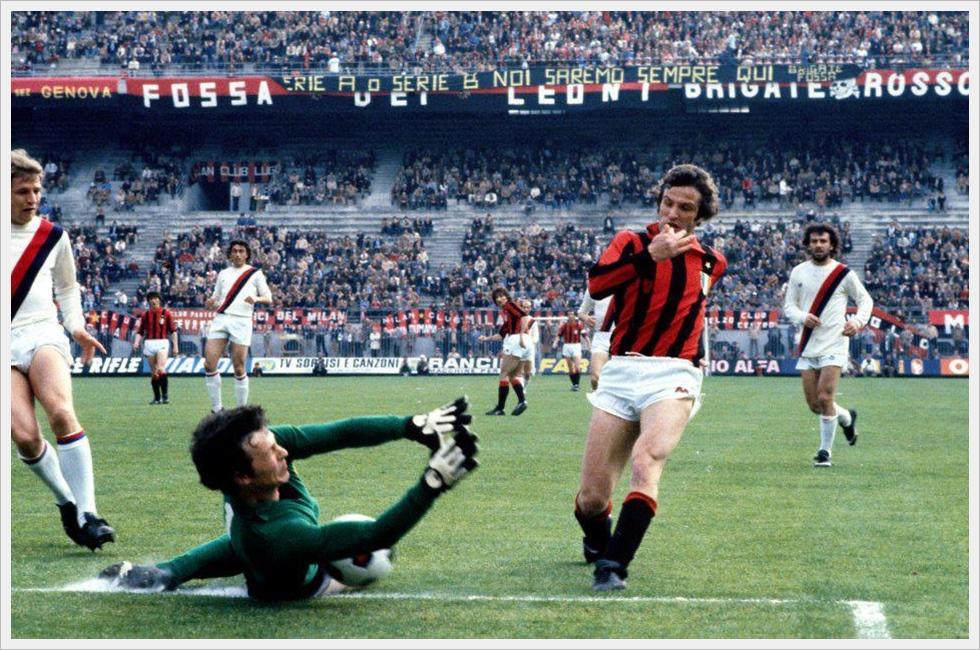 1979/80: Milan-Bologna 4-0 - Chiodi e Zinetti