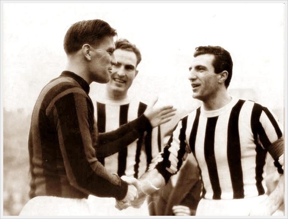 Nils Liedholm e Carlo Parola, due gentlemen d'altri tempi