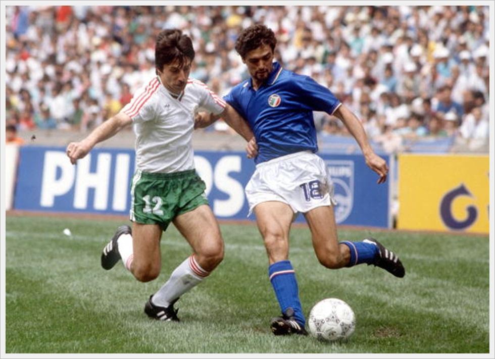 Mondiali 1986: Radoslav Zdravkov e Alessandro Altobelli