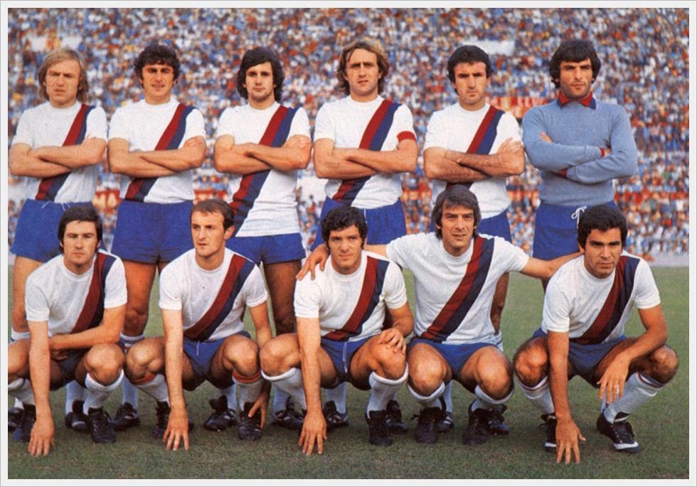 Il Bologna di Giagnoni stagione 1976/77