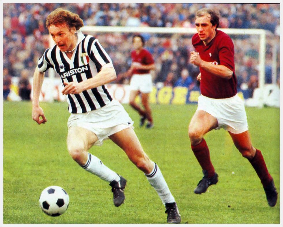 Derby di Torino 1982/83: Boniek e Galbiati
