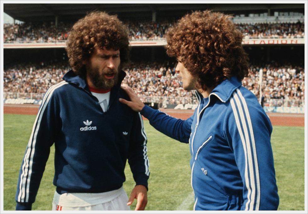 Hair-Style anni '70: Paul Breitner e Kevin Keegan