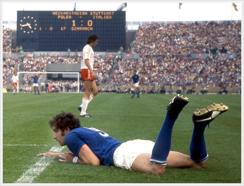 Mondiali 1974, Polonia-Italia 2-1: Chinaglia ben rappresenta la resa azzurra