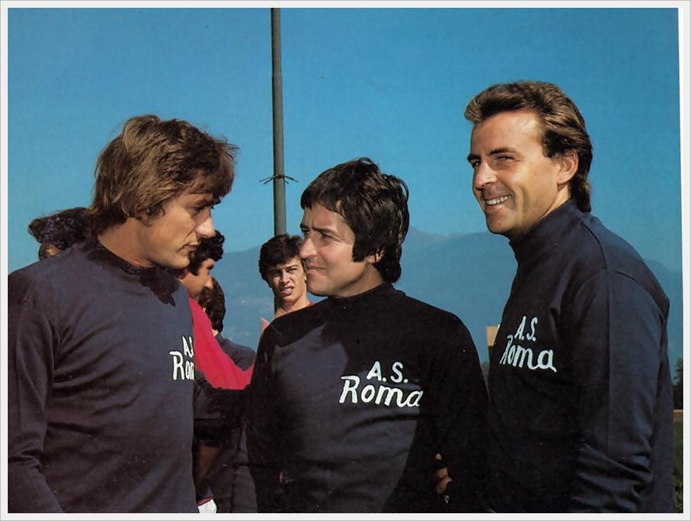 Roma anni settanta: Cordova, De Sisti e Morini