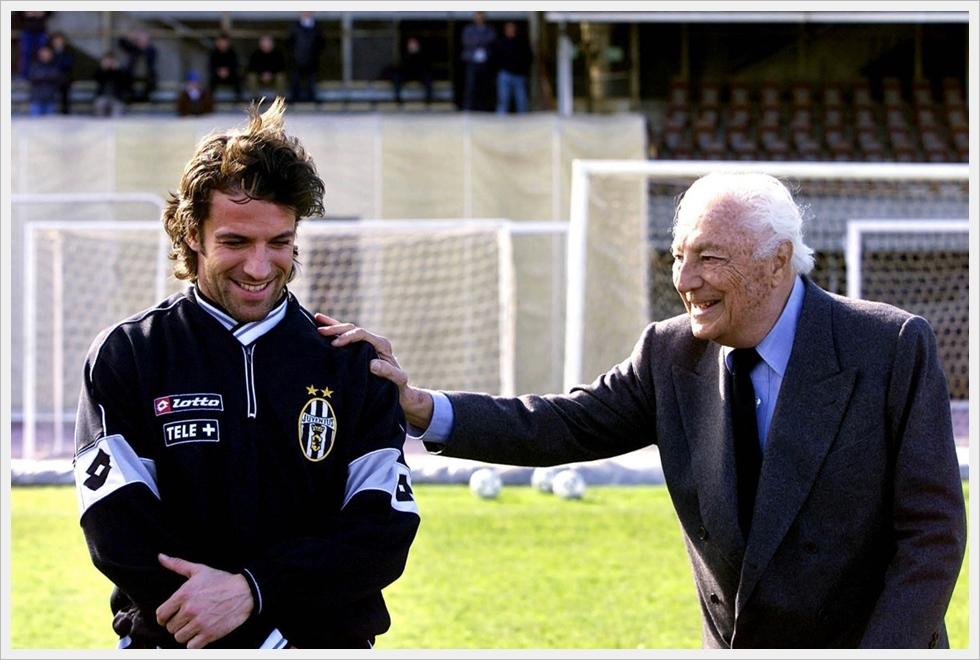 Alessandro Del Piero e Gianni Agnelli