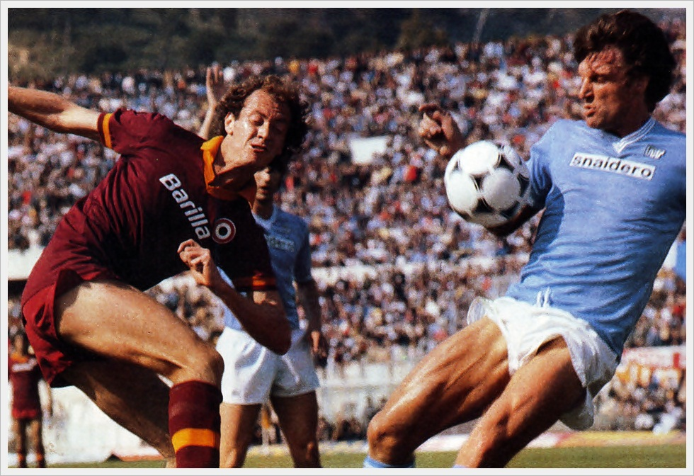 Serie A 1980/81: Falcao Vs Krol in Roma-Napoli