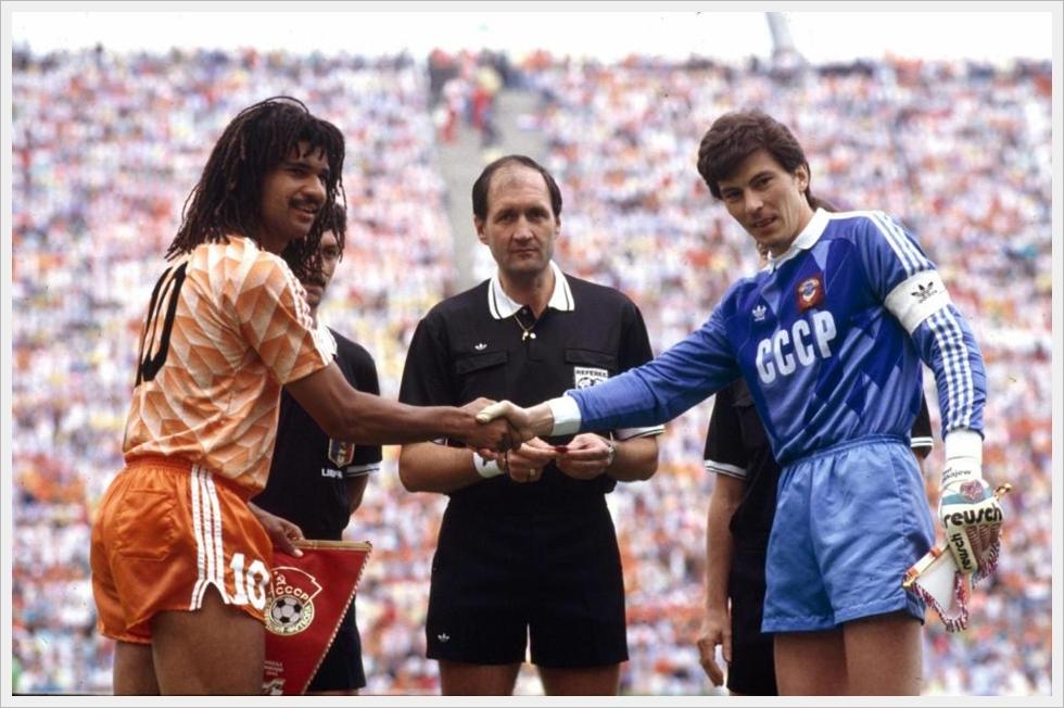 Finale Euro 1988: Gullit e Dasaev