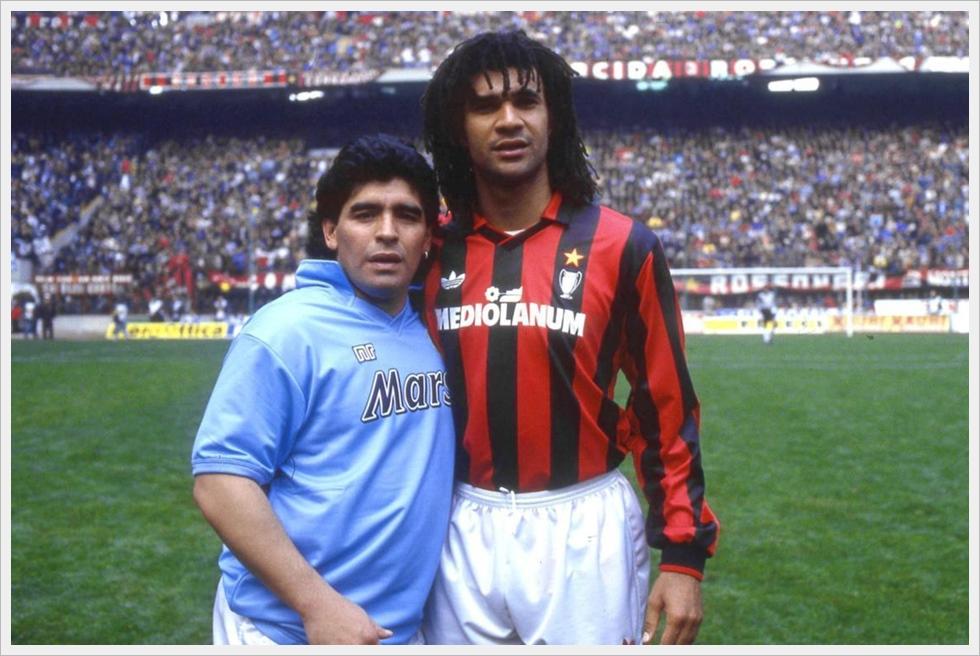 Quando Milan-Napoli era Gullit-Maradona