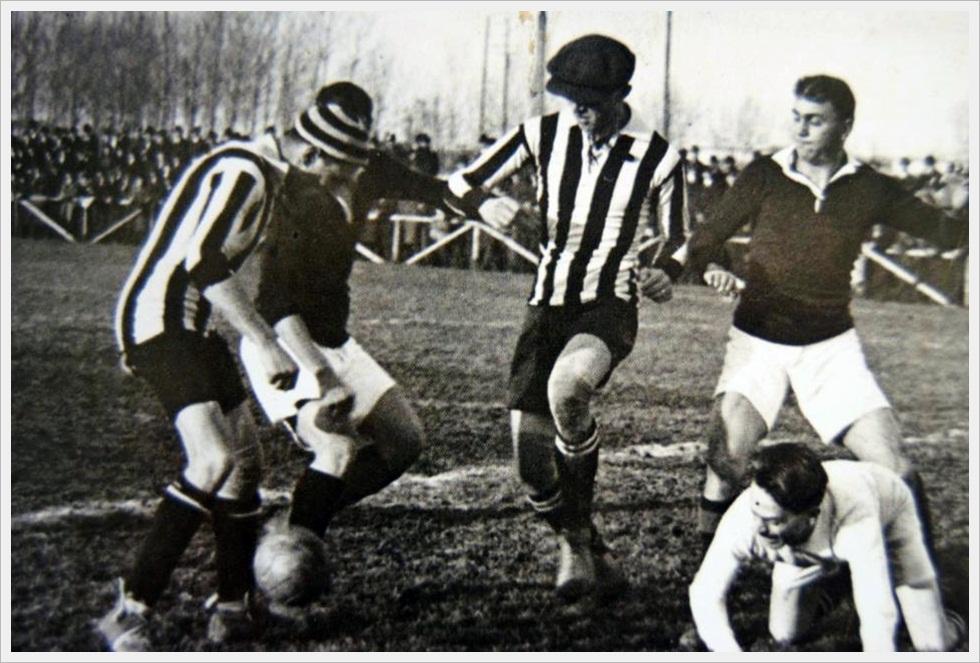 Stadio di corso Sebastopoli 29/11/1914: Juventus - Torino 2-7