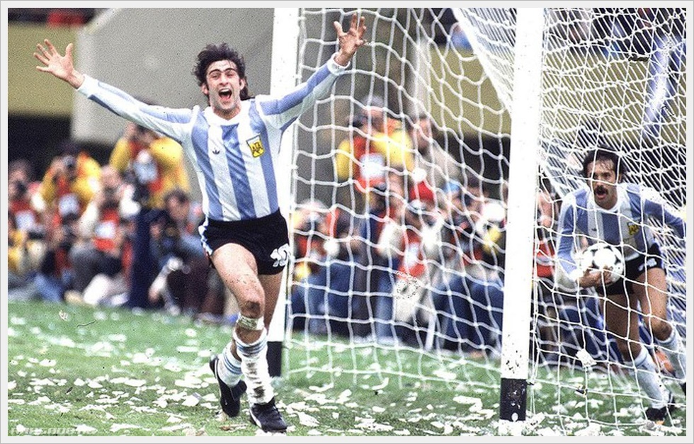Mario Kempes, capocannoniere di Argentina 1978