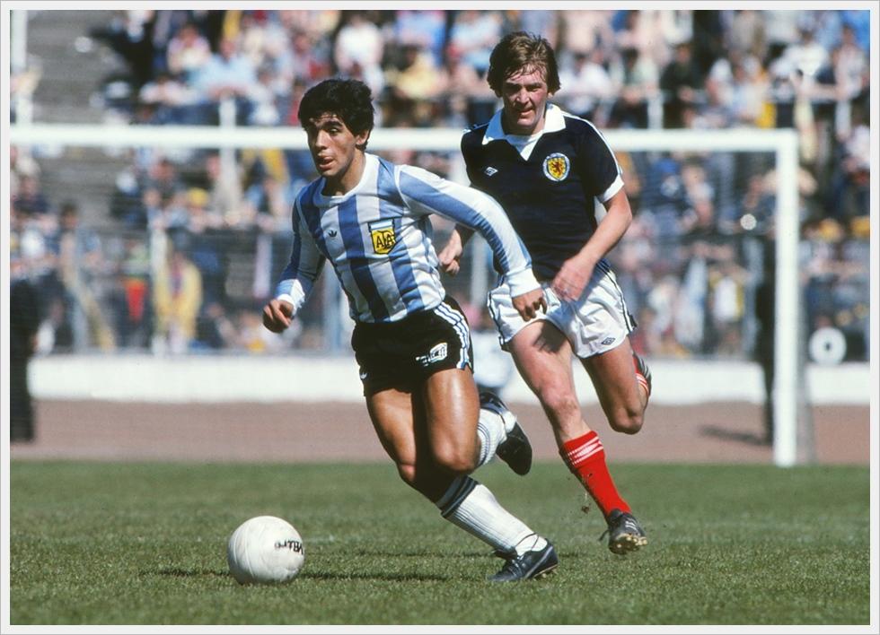 2 giugno 1979, Scozia-Argentina 1-3: Maradona e Dalglish. Per il Pibe prima rete in Nazionale