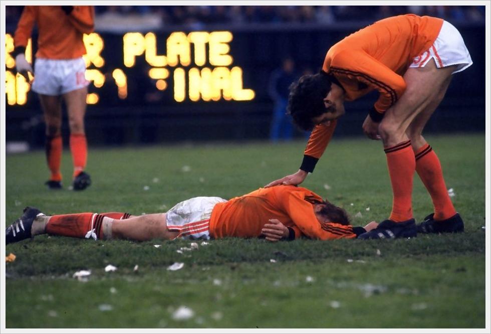 Mondiali 1978: disperazione arancione dopo la finale persa contro l'Argentina