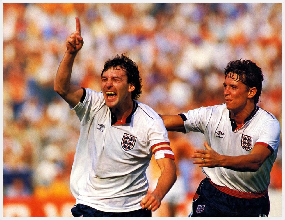 Robson e Lineker protagonisti a Euro 1988