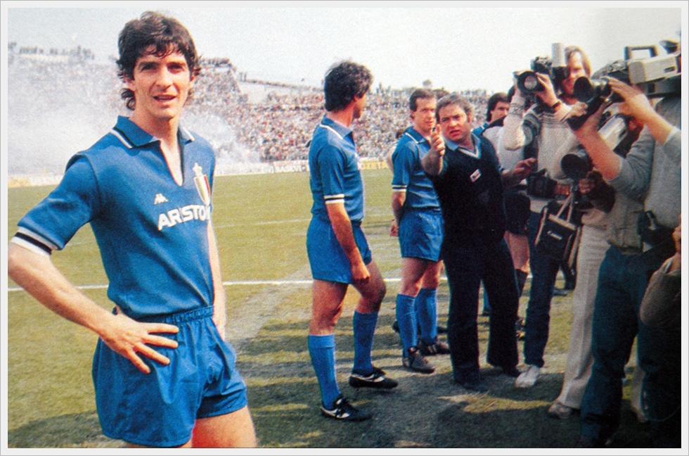Udine, 2 maggio 1982: il rientro di Paolo Rossi dopo la squalifica