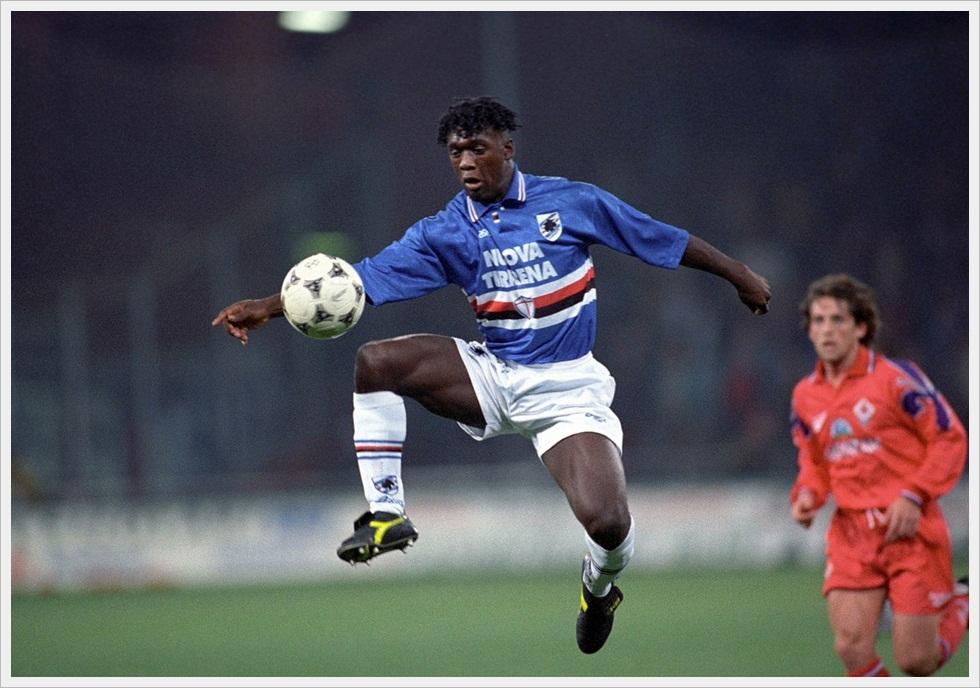 1995/96: Clarence Seedorf nella sua unica stagione sampdoriana