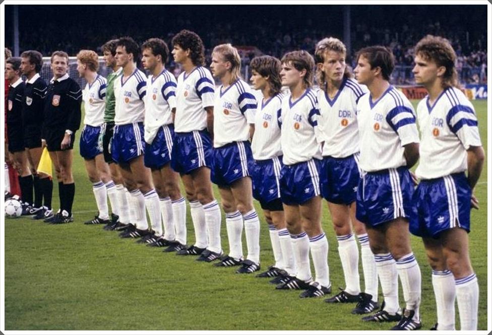 12 settembre 1990, Belgio-Germania Est 0-2. L'ultima partita della DDR prima della riunificazione
