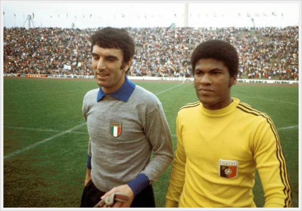 Zoff e Francillon: portieri-contro per Italia-Haiti 3-1, Monaco '74