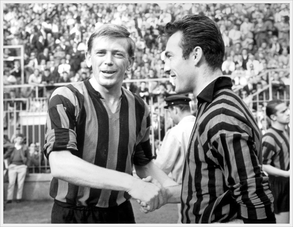 1961: Hitchens e Greaves, englishmen a Milano