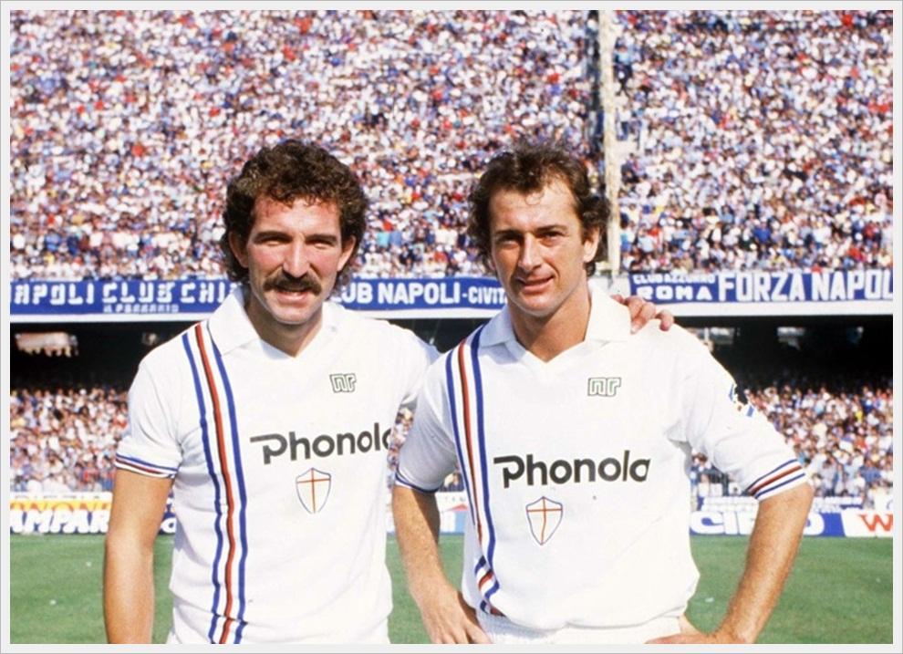 Graeme Souness e Trevor Francis, Sampdoria 1984/85