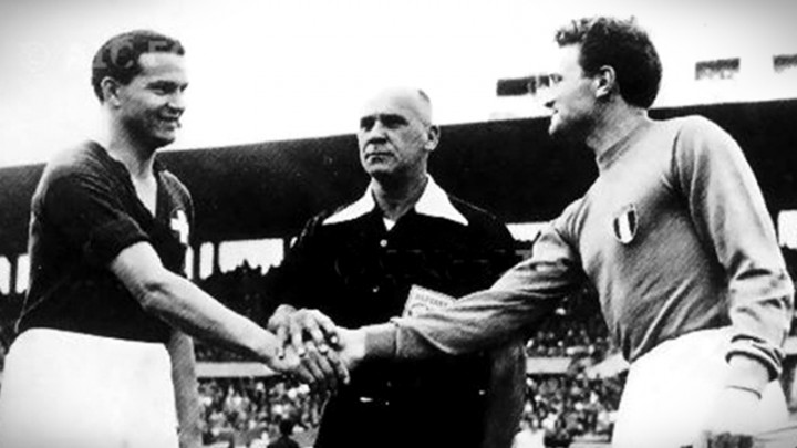 """1954 – Biagi: """"Arbitri e congiure, poi tutti a casa"""""""