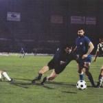 Juventus – Athletic Bilbao 1-0, Coppa Uefa 1976-77 (finale d-andata) – Boninsegna anticipato da Iribar