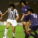 Juventus – Athletic Bilbao 1-0, Coppa Uefa 1976-77 (finale d-andata) – Causio in azione