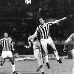 Juventus – Manchester City 2-0, ritorno 32simi Coppa Uefa, Boninsegna colpisce di testa in area avversaria