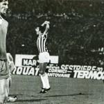 Juventus – Manchester City 2-0, ritorno 32simi Coppa Uefa, Scirea esulta dopo il goal